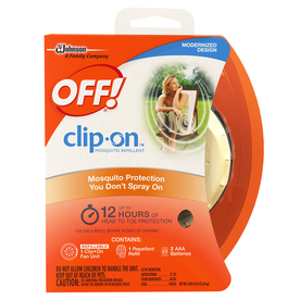 Off! Clip-On Mosquito Repellent Starter Kit 615975