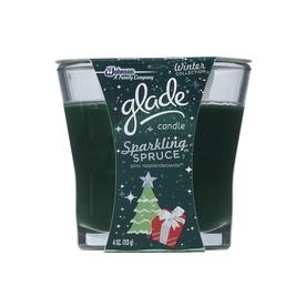 Glade 4-oz Sparkling Spruce Green Jar Candle