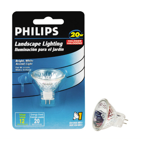 Philips 20-Watt MR11 Base Bright White Halogen Accent Light Bulb