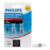 Philips 2-Pack 20-Watt T3 Base Bright White Halogen Accent Light Bulbs