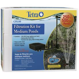 Tetra 550 GPH Filtration Kit for Medium Ponds