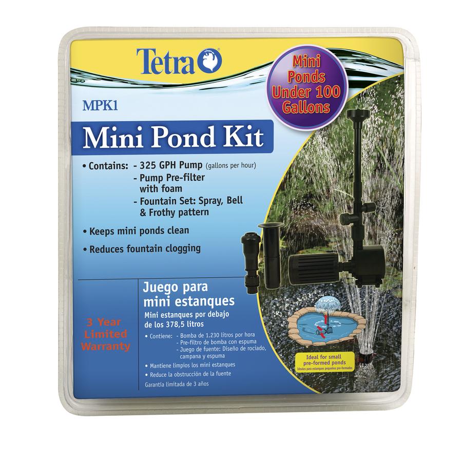 Shop Tetra Tetra Mini Pond Kit At