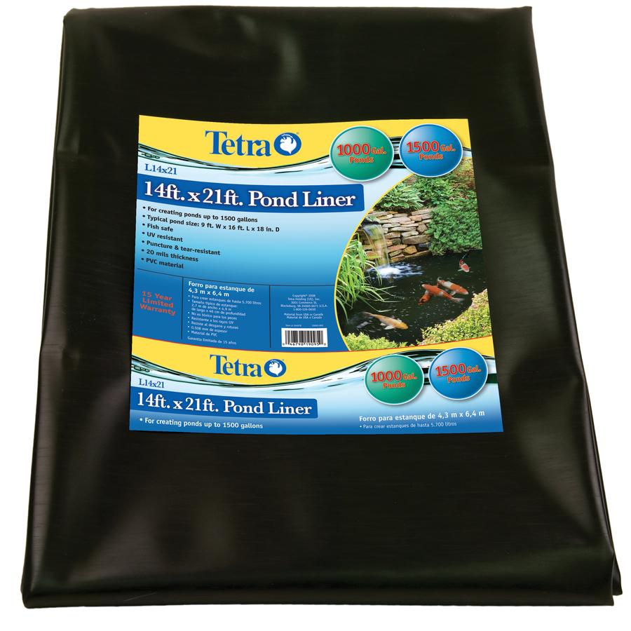 Shop Tetra 1500 Gallon Pvc Pond Liner At