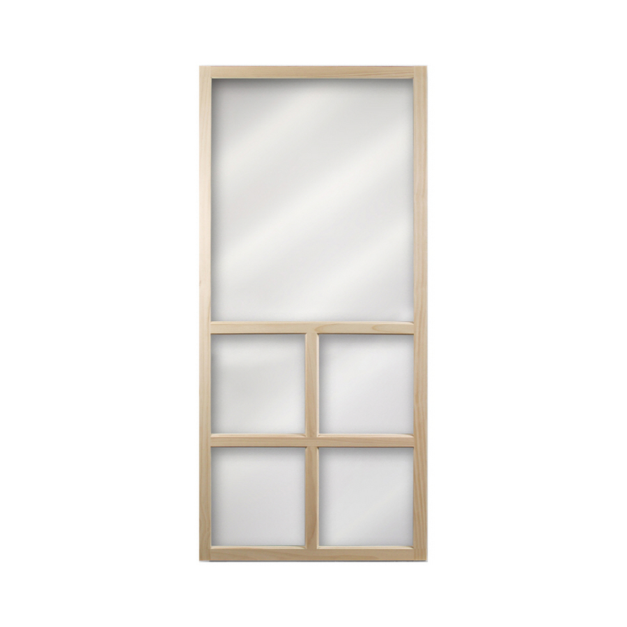 Shop columbia mfg wood screen door at lowes
