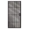 Columbia Mfg. Magnum Black Powder-Coat Steel Security Door