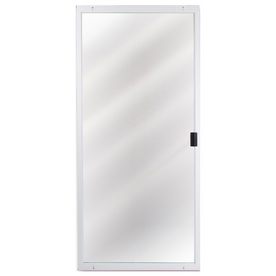 Lowes Columbia White Heavy Weight Patio Screen Door Patio Doors House
