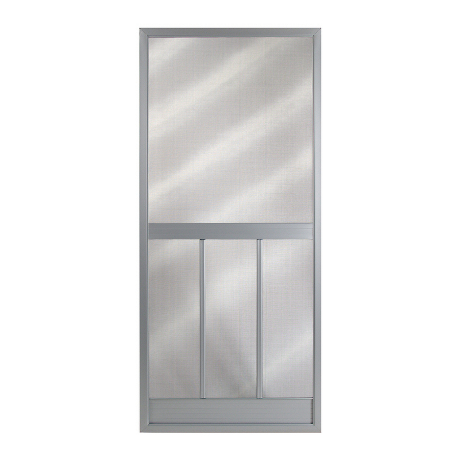 Security screen doors steel security screen door lowes for Front door screen doors lowes