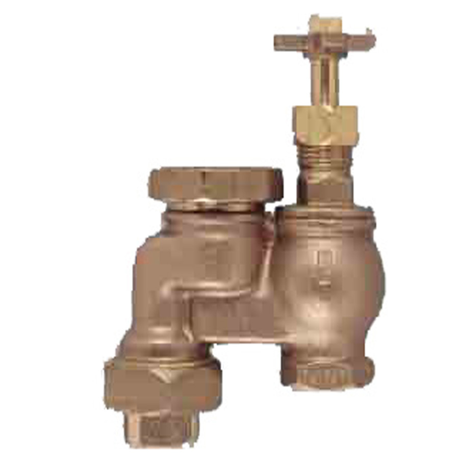 Shop Orbit 3/4-in Brass Manual Anti-Siphon Irrigation Valve at Lowes ...