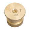 Orbit 15-ft Brass Half-Circle Spray Head Nozzle