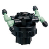 Orbit 4-Port NPT Irrigation Manifold with Filter