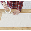 Blue Hawk 1 8-oz Canvas Drop Cloth (Common: 4-ft x 5-ft; Actual 4-ft x 5 Feet)