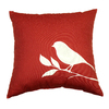 Garden Treasures Lennington Red UV-Protected Outdoor Accent Pillow