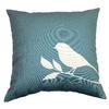 Garden Treasures Lennington Blue UV-Protected Outdoor Accent Pillow