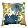 Garden Treasures Eldson Green UV-Protected Outdoor Accent Pillow
