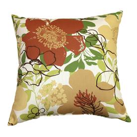 Garden Treasures Eldson Rust UV-Protected Outdoor Accent Pillow