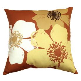 Garden Treasures Chapin Rust UV-Protected Outdoor Accent Pillow