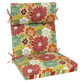 Shop Garden Treasures 46 In L X 22 In W Red Patio Chair
