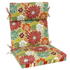Garden Treasures 46-in L x 22-in W Red Chair Cushion