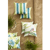 allen + roth Green UV-Protected Square Outdoor Decorative Pillow
