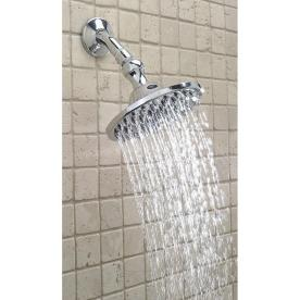 shop interbath 6 brass rainmaker shower head at. Black Bedroom Furniture Sets. Home Design Ideas