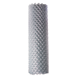 Uncoated Metal Chain-Link Fence Fabric (Actual: 50-ft x 4-ft)