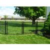 2.375-in x 72-in Black 16-Gauge Galvanized Steel Chain-Link Fence Terminal Post