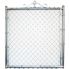 Galvanized Steel Chain-Link Fence Walk-Thru Gate (Common: 3.5-ft x 3-ft; Actual: 3.16-ft x 3-ft)