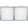 Metal Chain-Link Fence Gate