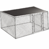 12-ft L x 6-ft W Plastic Kennel Cover