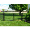Vinyl Coated Steel Chain-Link Fence Gate (Common: 10-ft x 6-ft; Actual: 9.5-ft x 6-ft)