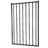 Black Metal Decorative Fence Gate