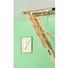 Louisville Premium 8-ft to 10-ft Type I Wood Attic Ladder