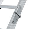 Louisville Everest 10-ft to 12-ft Type IA Aluminum Attic Ladder