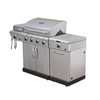 Char-Broil Modular Griddle Stainless Steel Grill Cart