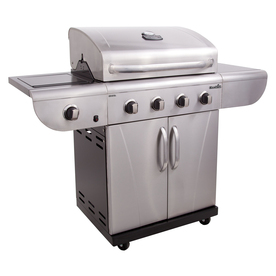 Char-Broil Commercial 4-Burner Liquid Propane and Natural Gas Grill 463241113