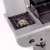 Char-Broil Commercial 3-Burner (30,000-BTU) Liquid Propane Infrared Burner Gas Grill with Side Burner