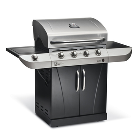 Char-Broil Commercial 4-Burner Liquid Propane and Natural Gas Grill 463244012