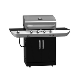 Char-Broil Commercial Series 4-Burner Stainless Steel Gas Grill
