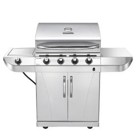 Shop Char Broil Stainless 4 Burner 34 000 Btu Liquid