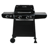 Char-Broil 2-Burner (30000 BTU) Liquid Propane Gas Grill with Side Burner