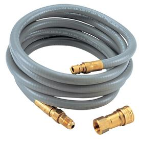 Char-Broil 3/8-in 0.37-in x 120-in Male-Female Quick-Connect Natural Gas Hose