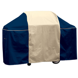 Char-Broil Coastal Blue Polyester 65-in Gas Grill Cover