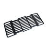 Char-Broil Adjustable Length Rectangle Porcelain-Coated Cast Iron Cooking Grate