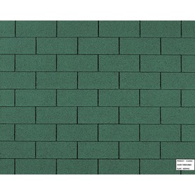 Owens Corning Classic 33.33-sq ft Forest Green Traditional 3-Tab Roof Shingles