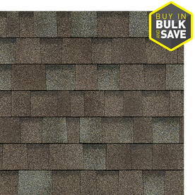 Owens Corning Oakridge 32.8-sq ft Driftwood Laminated Architectural Roof Shingles