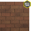 Owens Corning Supreme 33.3-sq ft Autumn Brown Traditional 3-Tab Roof Shingles