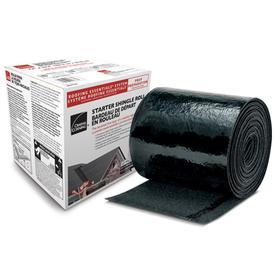 Owens Corning Starter Shingle 33.33-lin ft Black Starter Roof Shingles