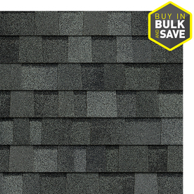 Owens Corning TruDefinition Duration 32.8-sq ft Estate Gray Laminated Architectural Roof Shingles