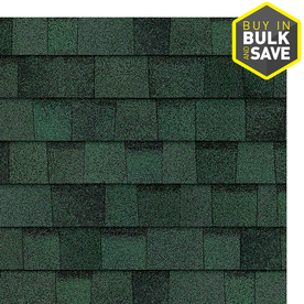 Owens Corning 32.8-sq ft Chateau Green Laminated Architectural Roof Shingles