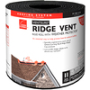 Owens Corning VentSure 11-in x 240-in Black Plastic Roll Roof Ridge Vent